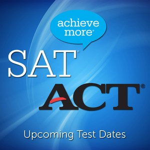 Upcoming SAT & ACT Dates