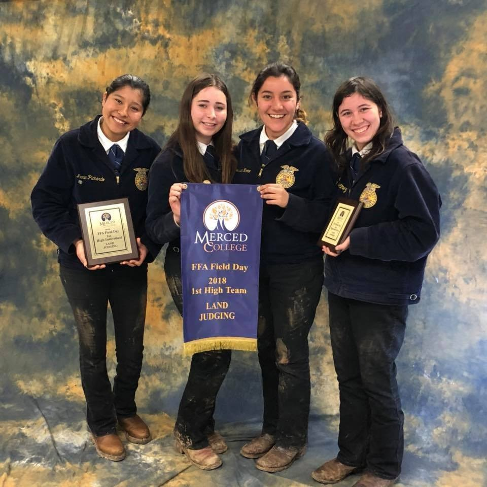 Chowchilla FFA Land Judging Team Members