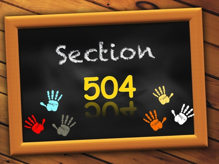 Section 504 Logo