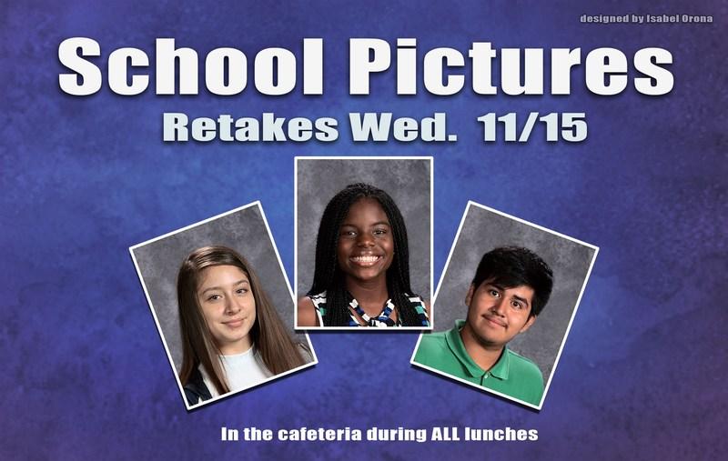 School Picture Retakes Thumbnail Image