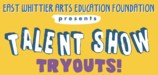 EWCSD Talent Show Tryout logo
