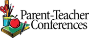 Image of words: parent teacher conference.
