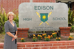 Picture of Edison High's new principal, Jennifer Graves.