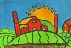 Sunset Over the Farm - Paul Armstrong - Gold Medal.jpg
