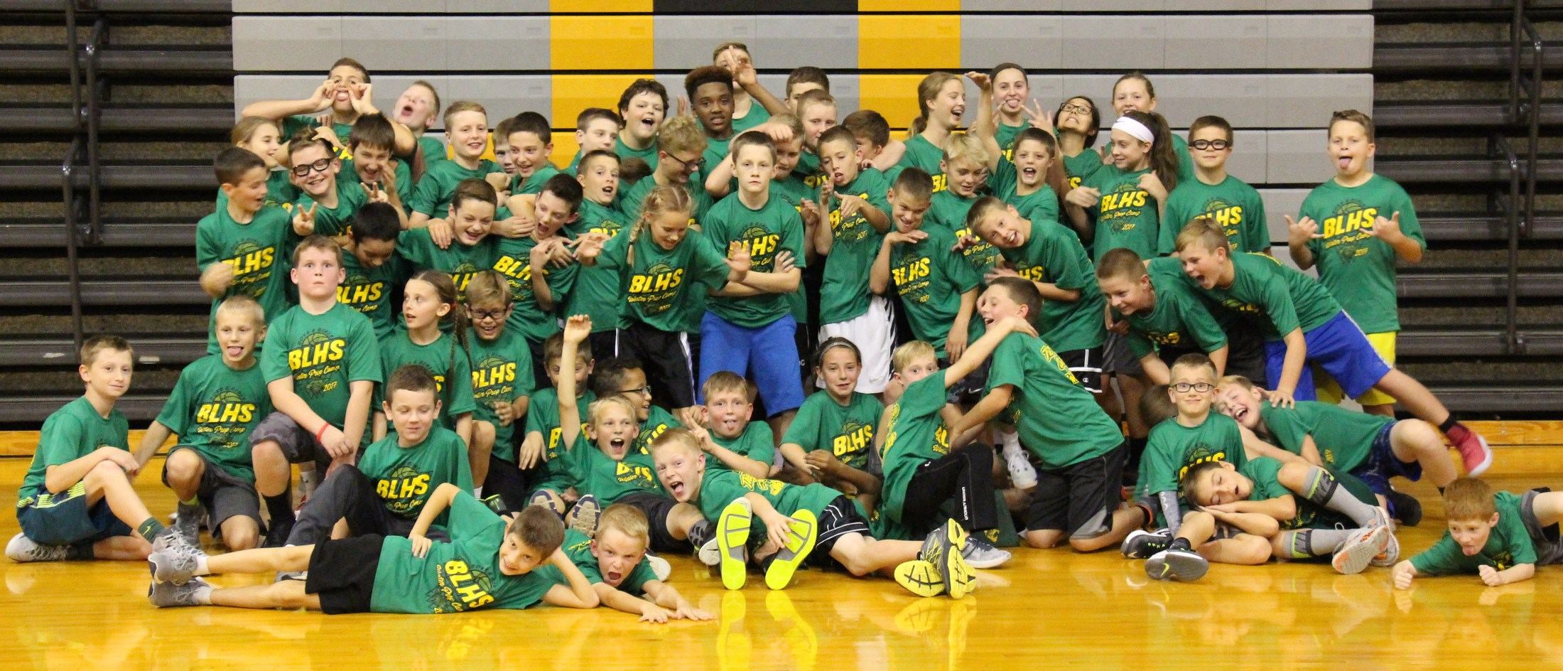 2017 Winter Basketball Camp Fun