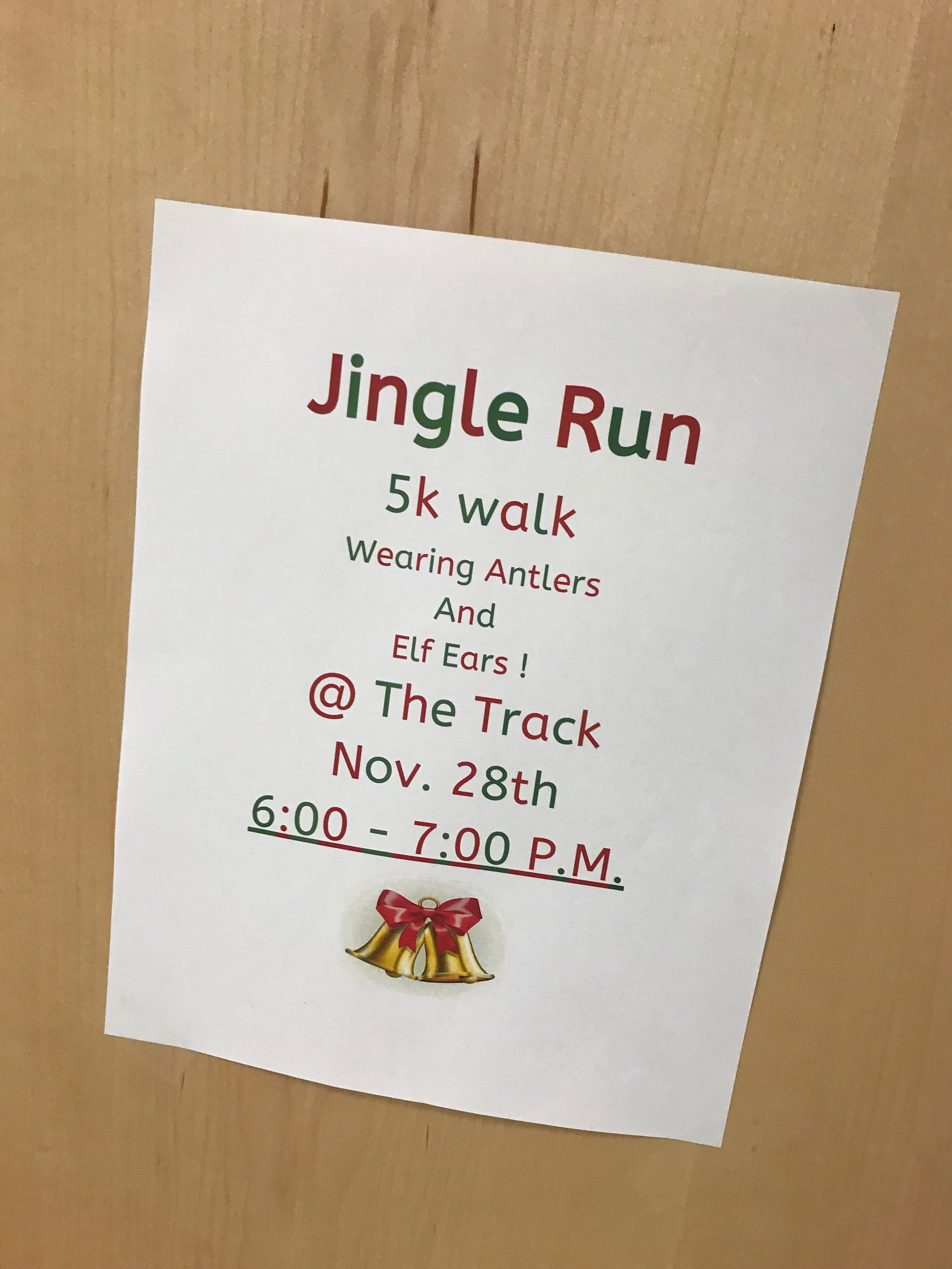 Jingle Run 5K Nov 28