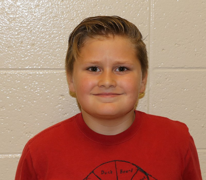 Nick Sherfield - Elementary Student of the Month Thumbnail Image