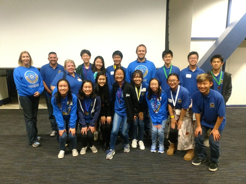 Science Olympiad team placed 6th overall in competition this past weekend! Thumbnail Image