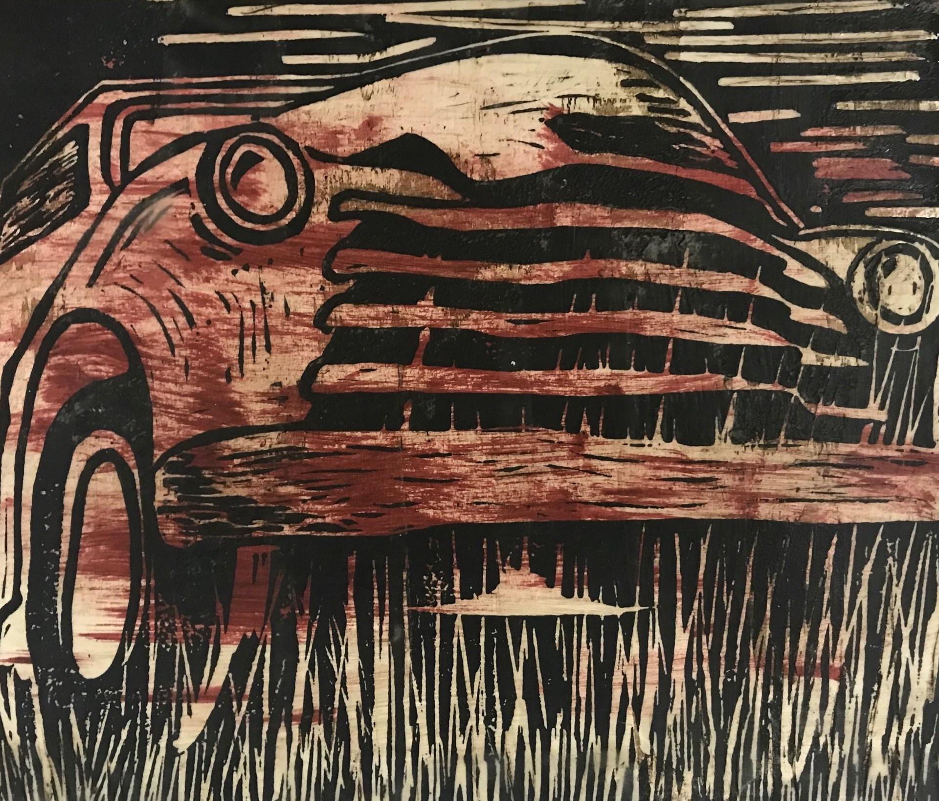 Print of a car