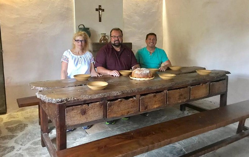 Molloy President, Teachers Visit Lourdes Featured Photo