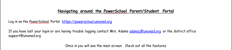 Powerschool Website