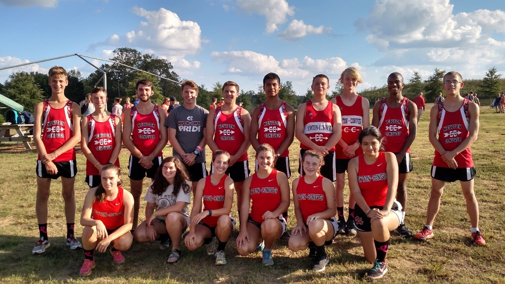 2016 XC Team at Sally's Y meet