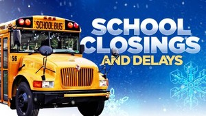 School Closings and Delays Image showing bus