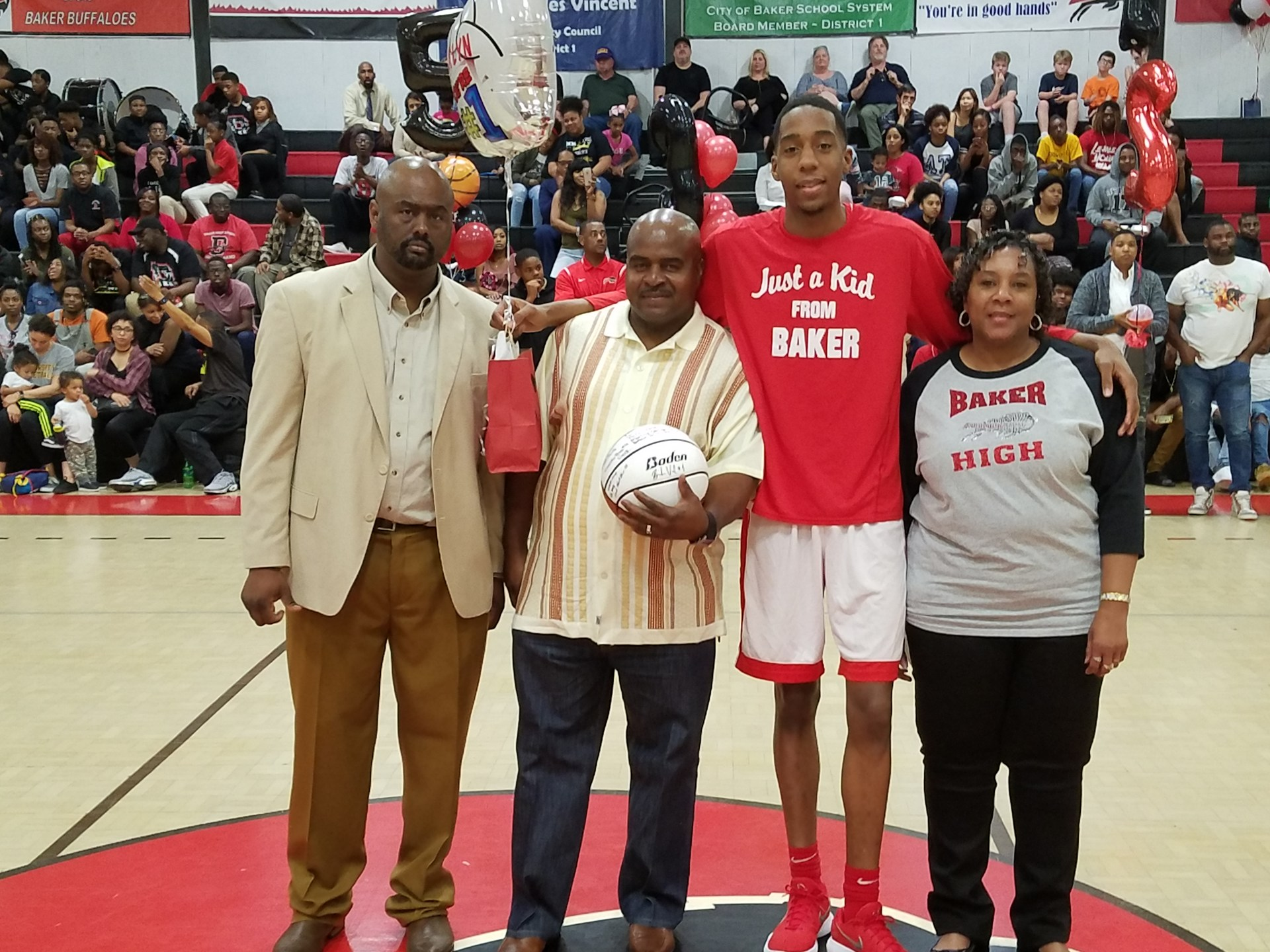 Ja`lyn Banks - Baker High School Boys Basketball Senior