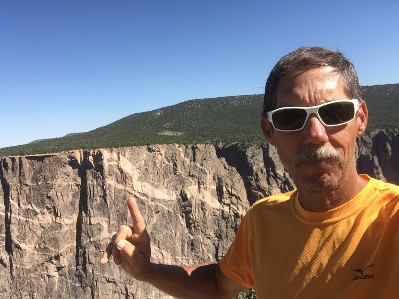 Selfie at Black Canyon of the Gunnison