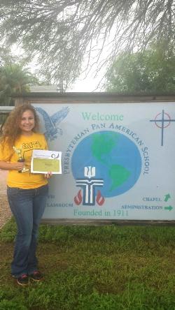 Monika Ruiz - Schreiner Scholarship 4_24_15a.jpg
