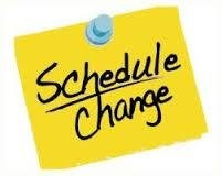 Schedule Change Image