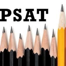 PSAT with pencils