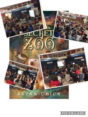 Secret Zoo Series cover page with students