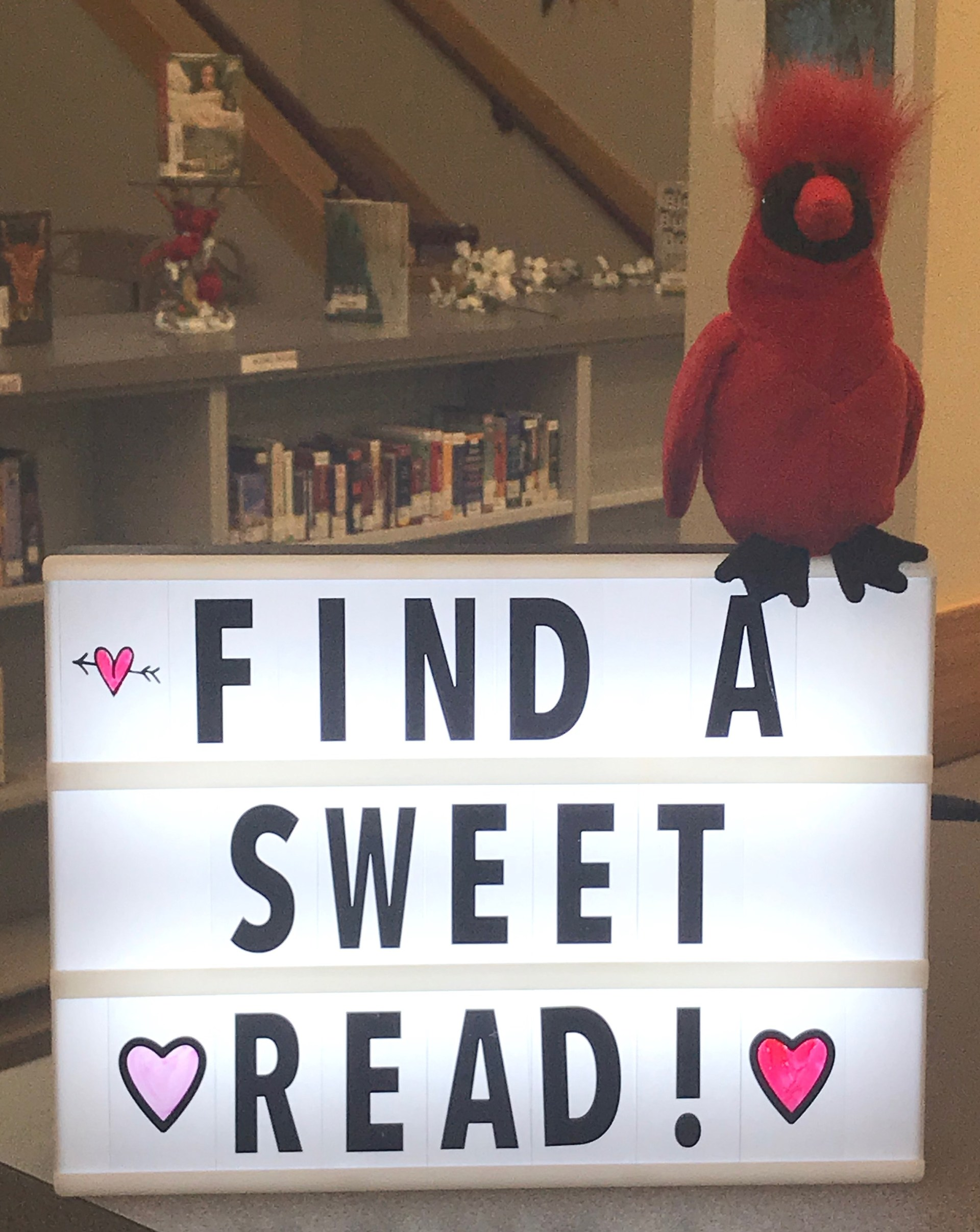 sweet read sign