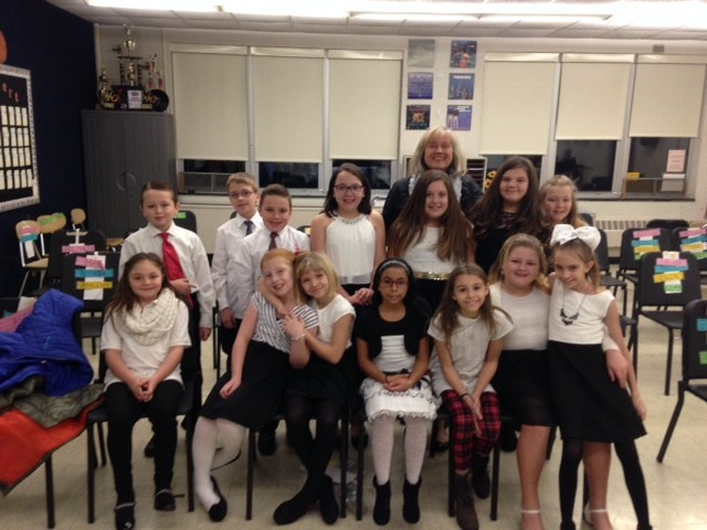 Chorus students