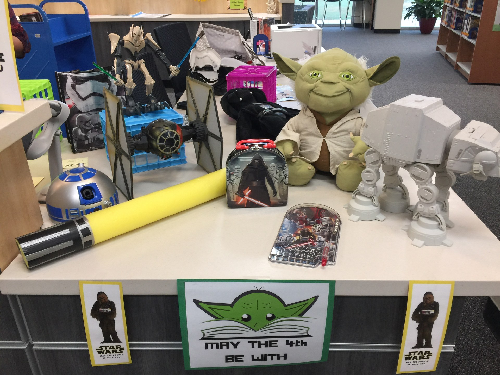 May the 4th be with you!  (Star Wars Reads Day)
