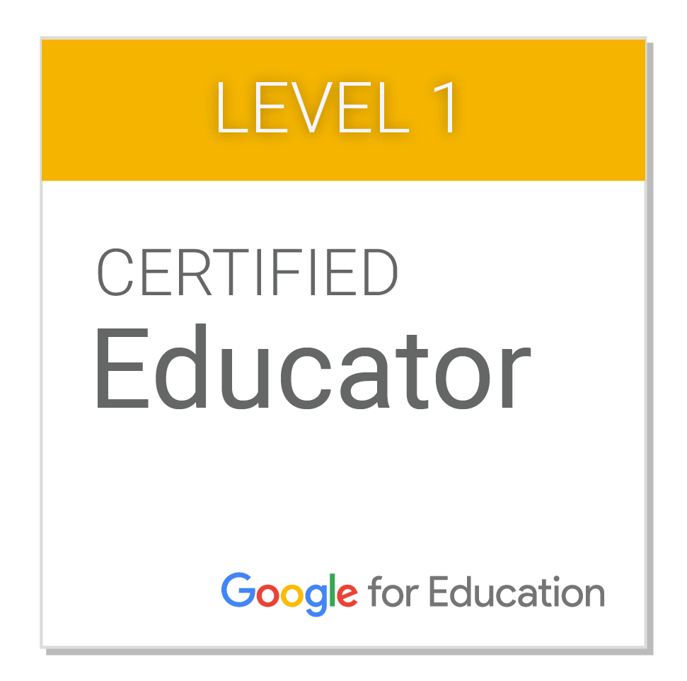 educator level 1 badge