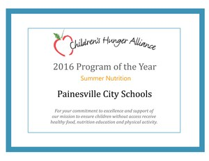 Painesville Summer Nutrition Program of the Year.jpg