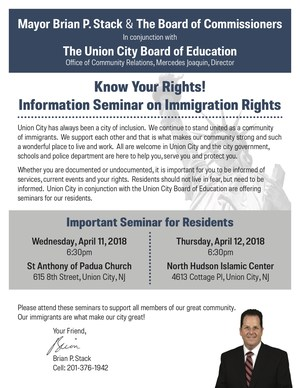 know your rights seminar flyer