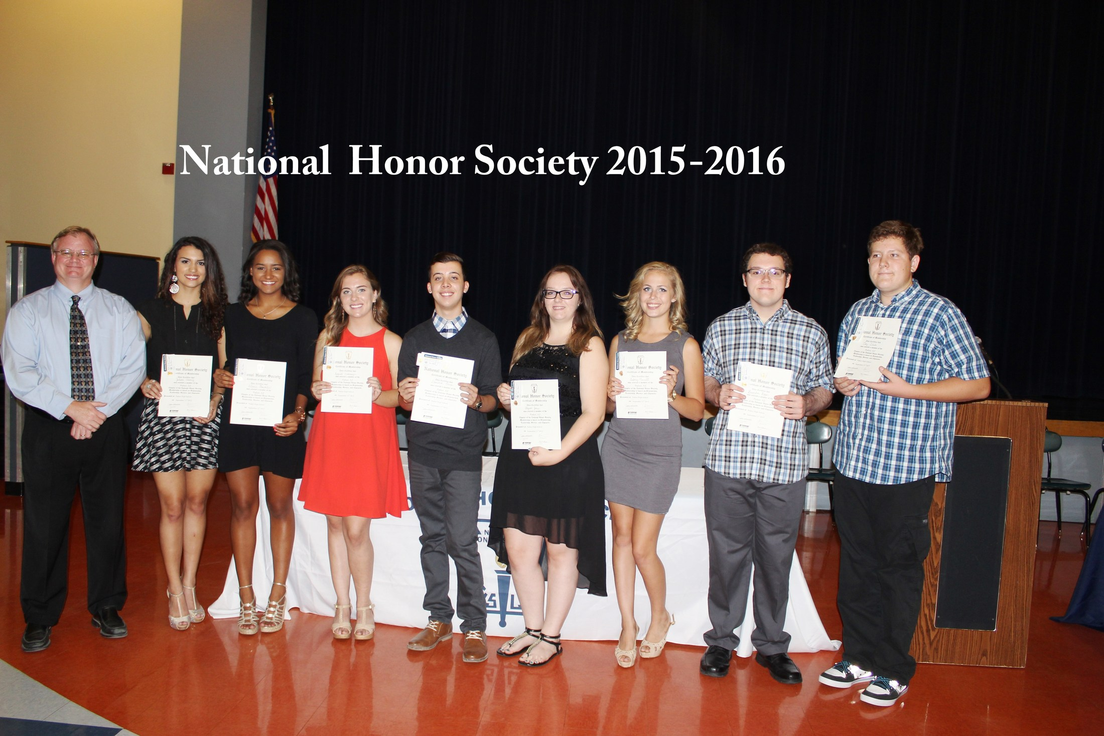 Honor society photo