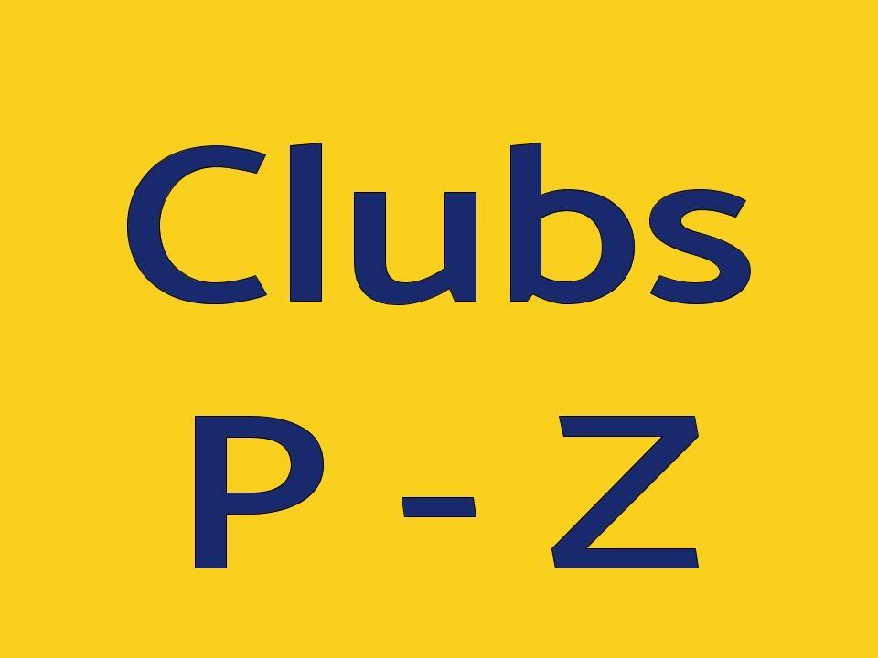 Clubs P-A