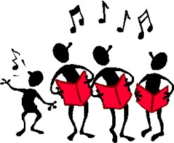 choir singing clip art
