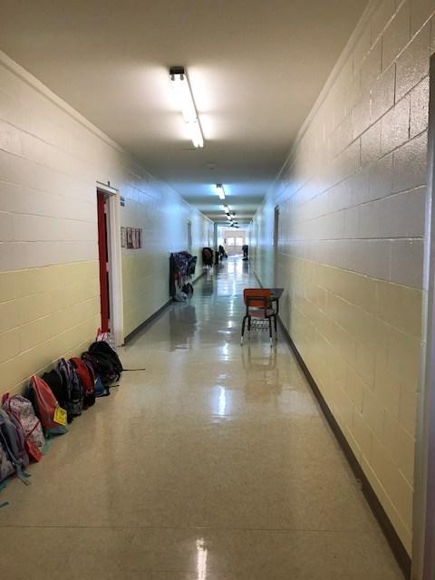 pic of elem hallway