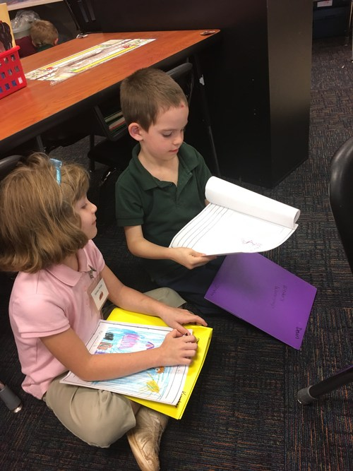 Sharing our writing