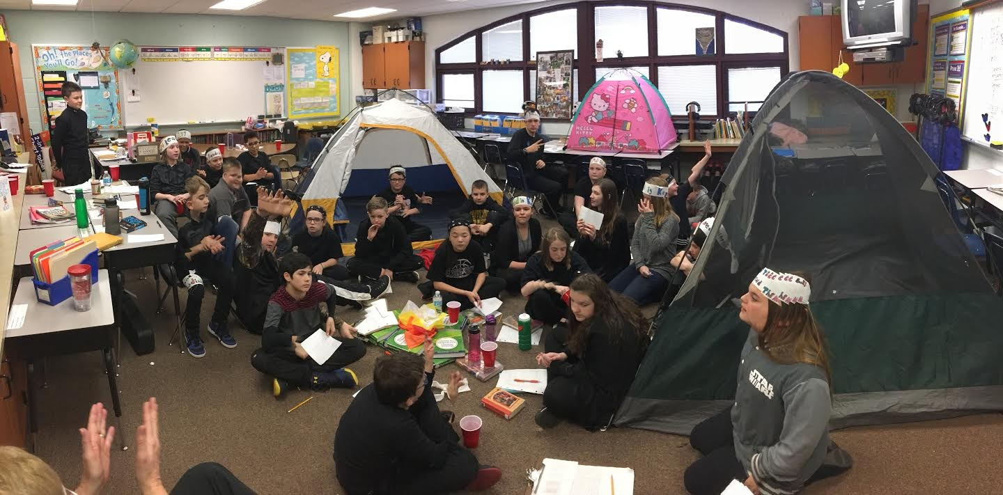 elementary camp out