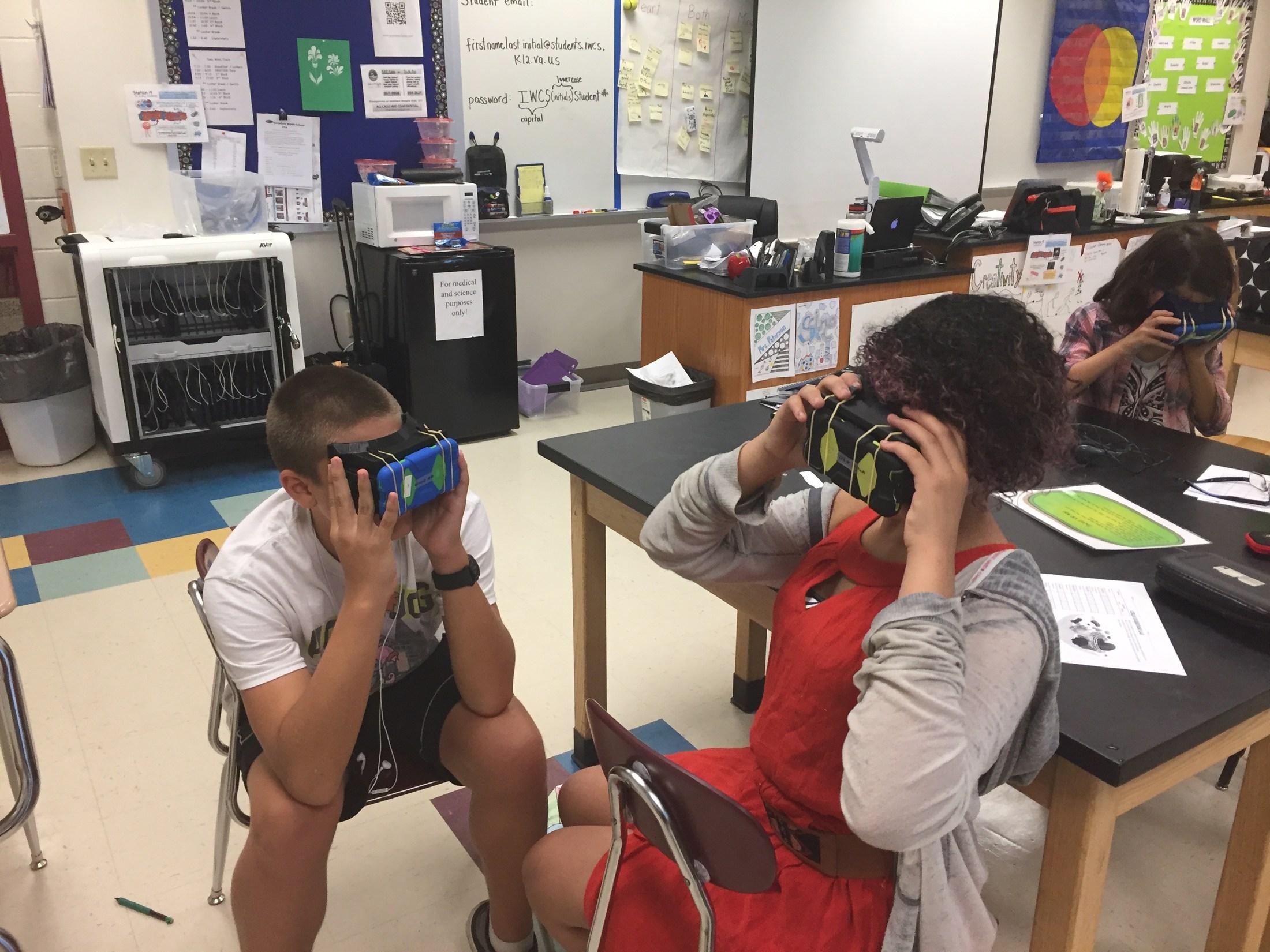 Virtual reality exploration