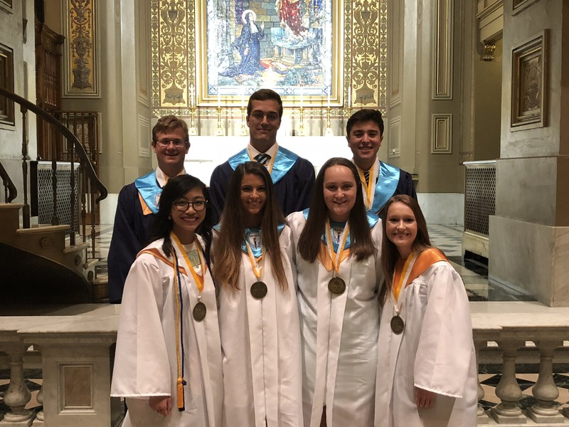 7 PJP Students honored at Archdiocesan Honors Convocation Thumbnail Image