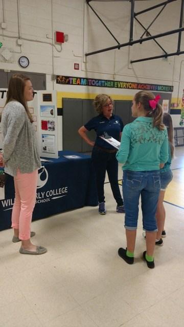 Mtn. View Elementary's Career Fair