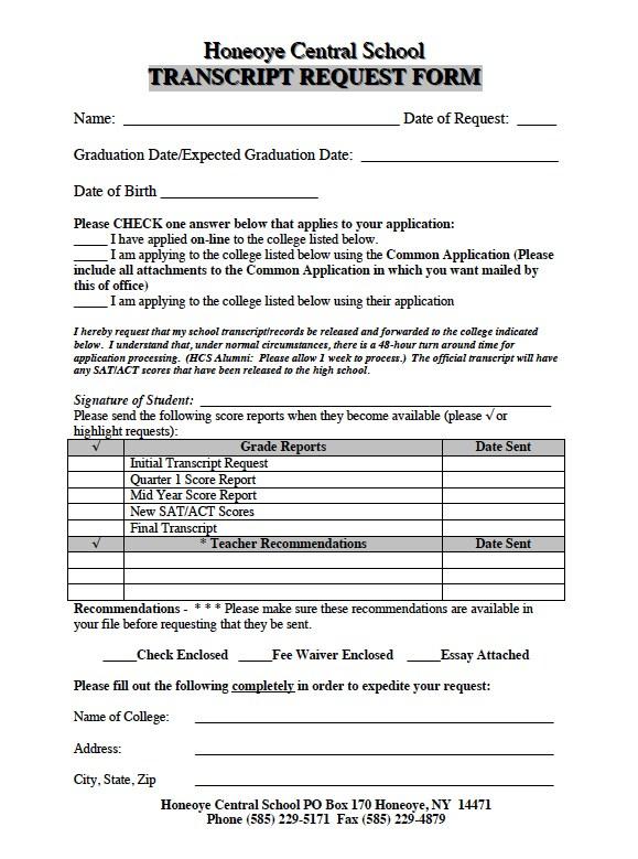 Transcript Application Form Du, Transcript Request Form, Transcript Application Form Du