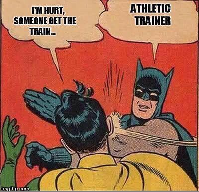 Batman Athletic Trainer