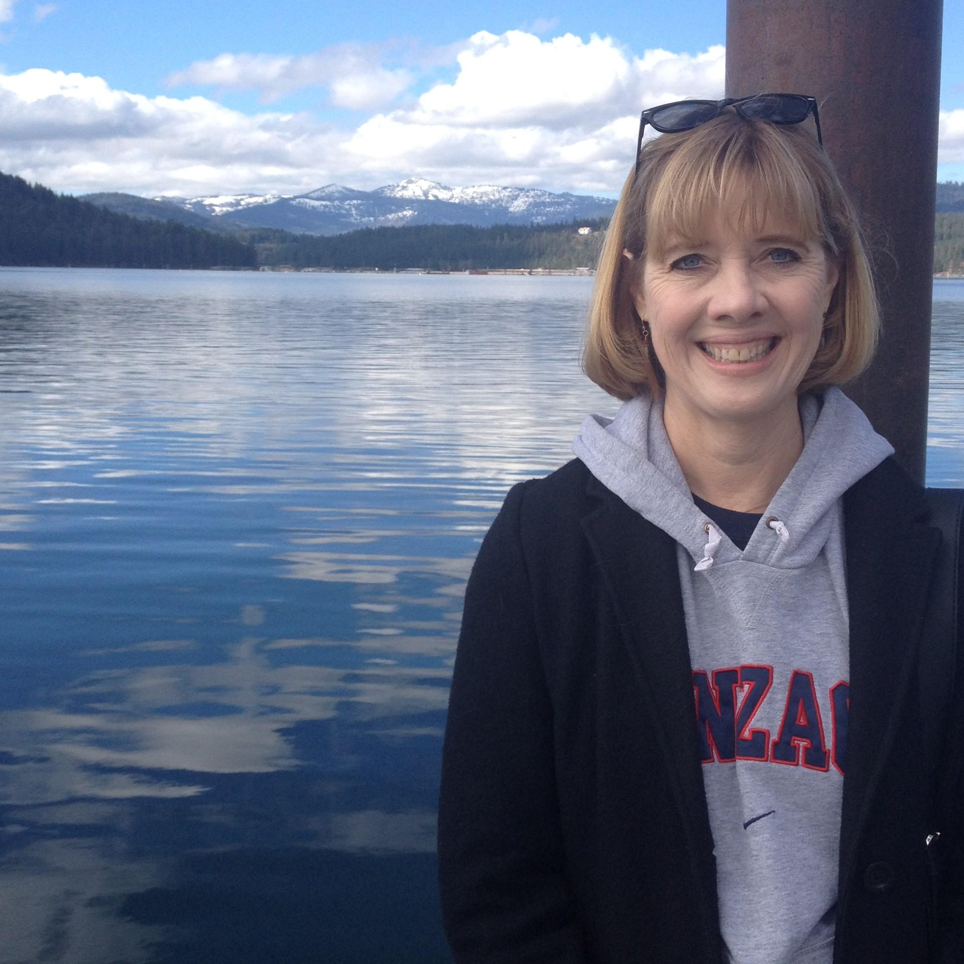 Mrs. Davies in Coeur D'Alene, Idaho.