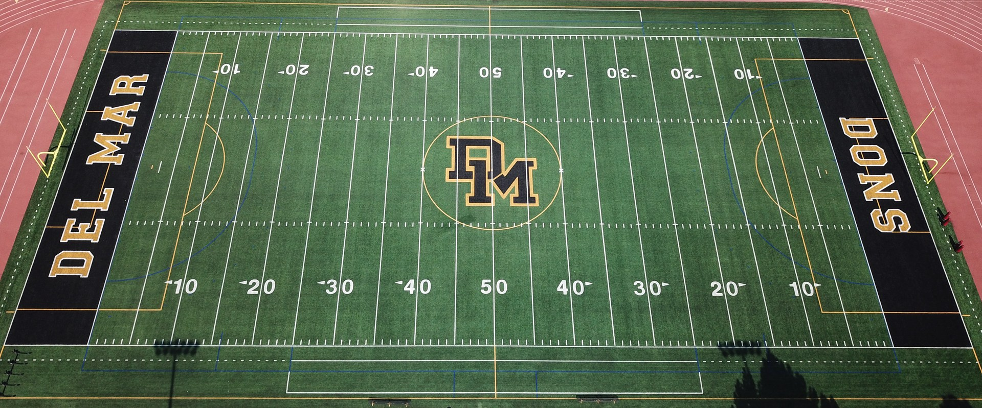 Image of new Del Mar athletic field