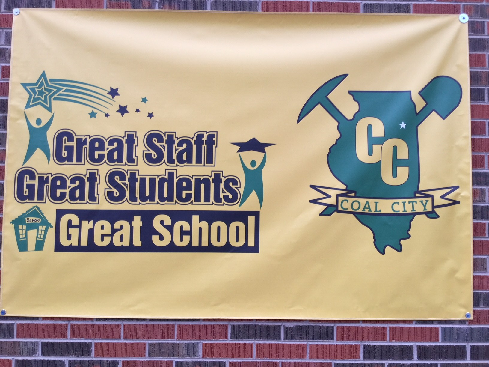 Coal City Intermediate School Banner