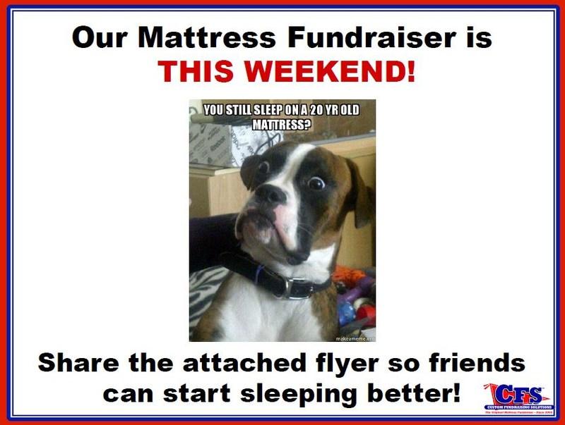Annual Mattress Fundraiser This Saturday Thumbnail Image
