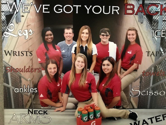 Athletic Trainers for 2017-18