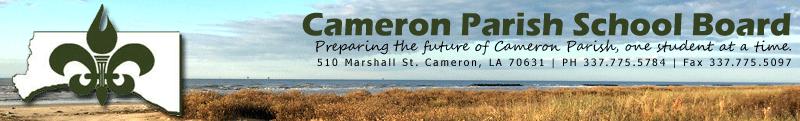 Cameron Parish School Board motto