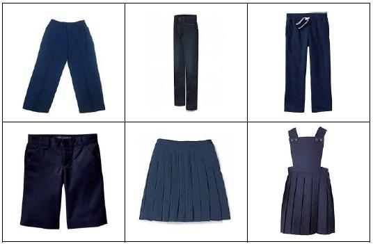Example of School Uniform Bottoms