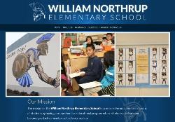 Northrup Elementary School website new launched.