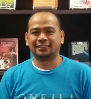 Sylvandale's library tech, Junior Bitao.