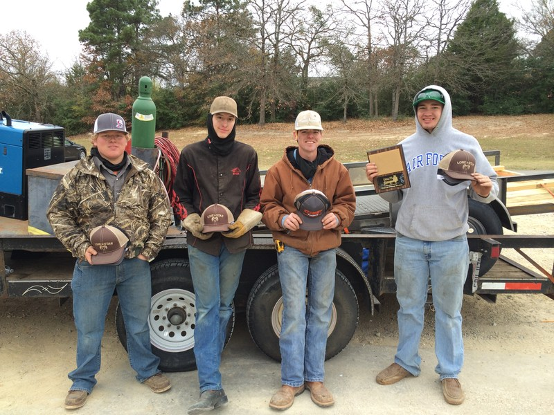 BHS Welding - 3rd Place in the Lindale FFA Trailer Build-off! Thumbnail Image